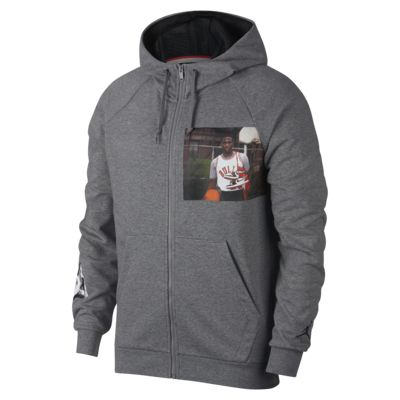 Jordan Jumpman Men's Lightweight Graphic Full-Zip Hoodie