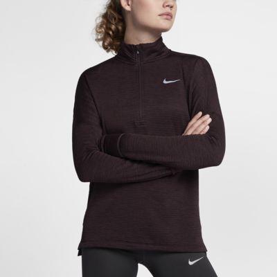 Nike Therma Element 女子半长拉链开襟长袖跑步上衣