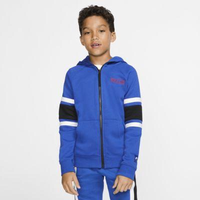 Nike Air Tam Boy Fermuarlı Genç Çocuk Kapüşonlu Üst