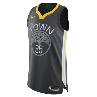 Kevin Durant Statement Edition Authentic (Golden State Warriors) Nike NBA Connected Trikot für Herren