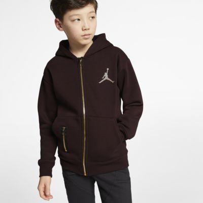 Jordan Dessuadora amb caputxa i cremallera completa - Nen