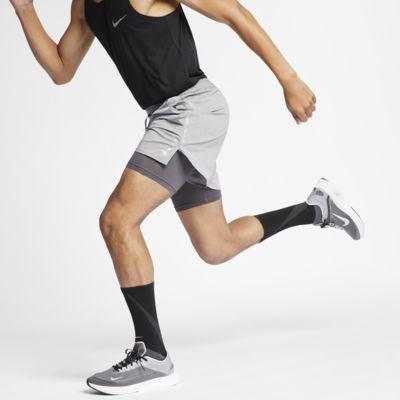 Nike Flex Stride 12,5 cm-es, 2 az 1-ben férfi futórövidnadrág