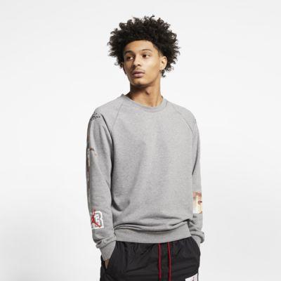 เสื้อคอกลมกราฟิกผู้ชายน้ำหนักเบา Jordan Jumpman