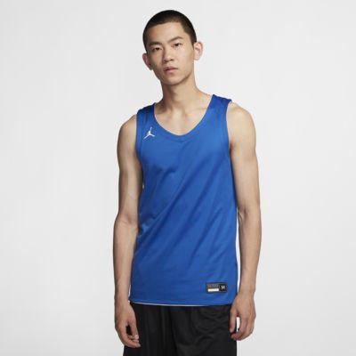 Jordan Practice 男子正反两穿篮球球衣