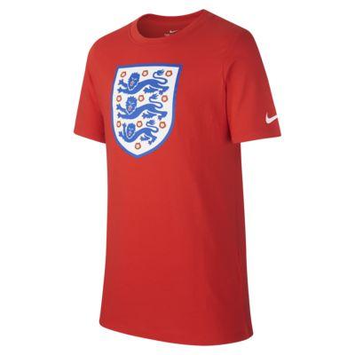 Tričko England Crest pro větší děti (chlapce)