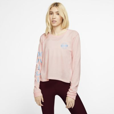 Hurley Global Perfect Langarm-T-Shirt für Damen