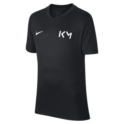 Camiseta de fútbol para niños talla grande Kylian Mbappé