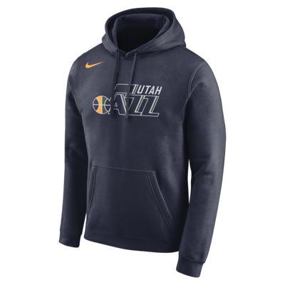 Utah Jazz Nike Men's Logo NBA Hoodie