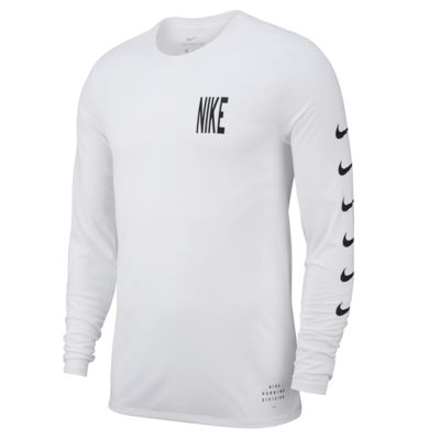 Nike Dri-FIT Men's Long-Sleeve Running T-Shirt