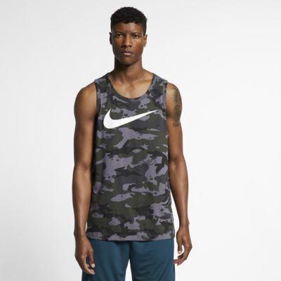 cheap for discount 9be09 ebf4b ... Men s Camo Training Tank. Nike Dri-FIT
