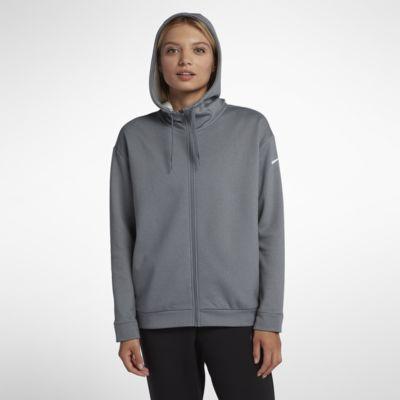 7d88027cf2fd2 Nike Dri-FIT Therma Women s Full-Zip Training Hoodie. Nike.com