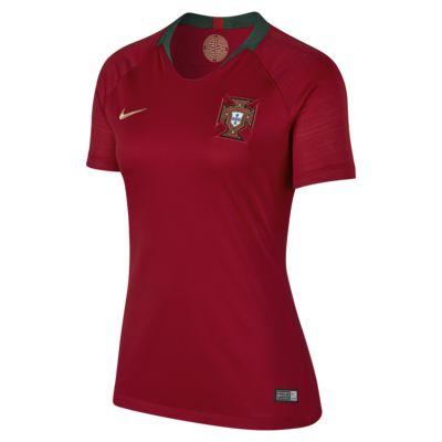 maillot de football 2018 portugal stadium home pour femme ca. Black Bedroom Furniture Sets. Home Design Ideas