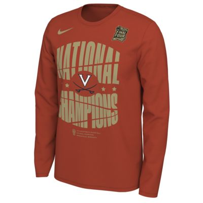 "Nike College Final Four Celebration ""National Champions"" (Virginia) Men's Long-Sleeve Crew"