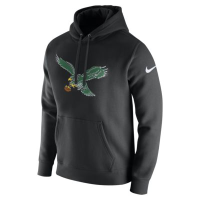 Nike Club (NFL Eagles) Men's Fleece Pullover Hoodie