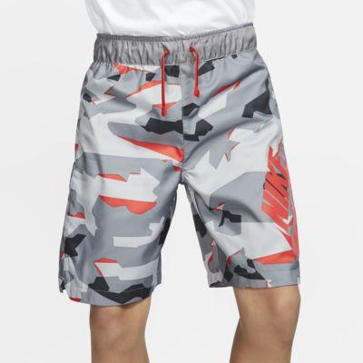Nike Sportswear Older Kids' (Boys') Woven Camo Shorts