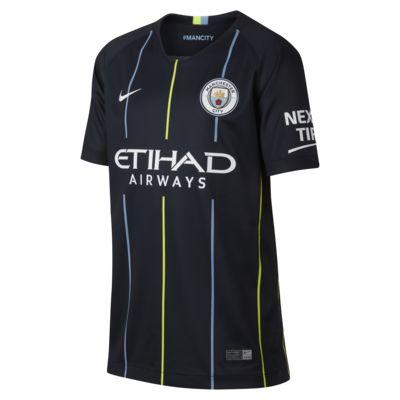 2018/19 Manchester City FC Stadium Away Older Kids' Football Shirt