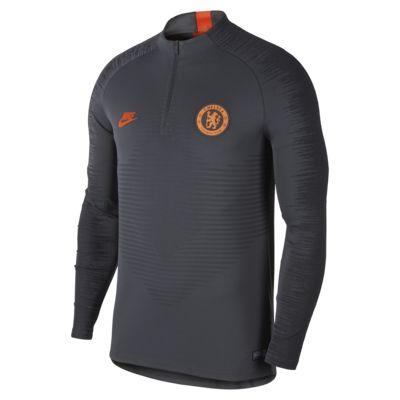 Prenda para la parte superior de entrenamiento de fútbol para hombre Nike VaporKnit Chelsea FC Strike