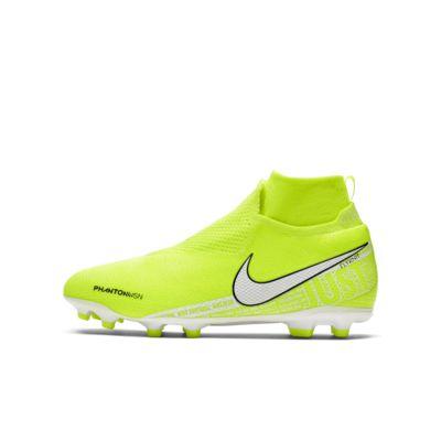 Nike Jr. Phantom Vision Elite Dynamic Fit MG Big Kids' Multi-Ground Soccer Cleat