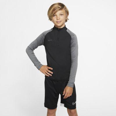 Prenda para la parte superior de entrenamiento de fútbol para niños talla grande Nike Dri-FIT Strike