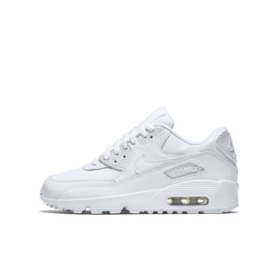 tout neuf f6db7 74565 Nike Air Max 90 Leather Older Kids' Shoe