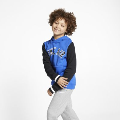 Nike Air Big Kids' (Boys') Fleece Pullover Hoodie
