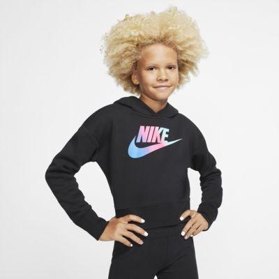 Nike Sportswear Big Kids' (Girls') Cropped Hoodie
