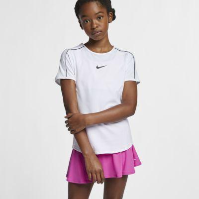 Haut de tennis NikeCourt Dri-FIT pour Fille plus âgée