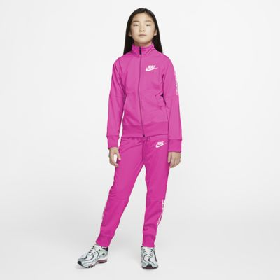 Conjunto de entrenamiento para niña talla grande Nike Sportswear
