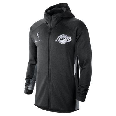 Sudadera con capucha de la NBA para hombre Los Angeles Lakers Nike Therma Flex Showtime