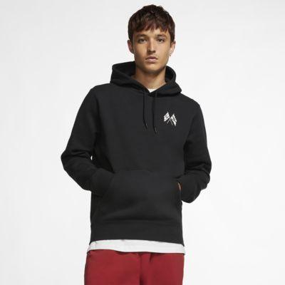 Sudadera con capucha sin cierre de skateboarding de manga larga para hombre Nike SB