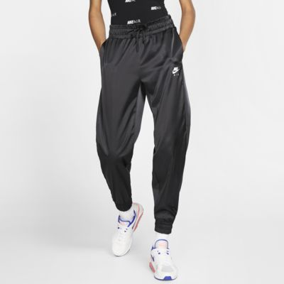 Trackpants Nike Air i satin för kvinnor