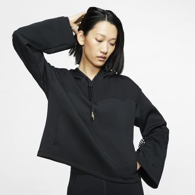 Damska bluza treningowa z kapturem i nacięciami Nike