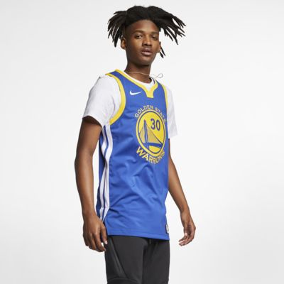 Stephen Curry Icon Edition Authentic (Golden State Warriors) Eşleştirilmiş Nike NBA Erkek Forması