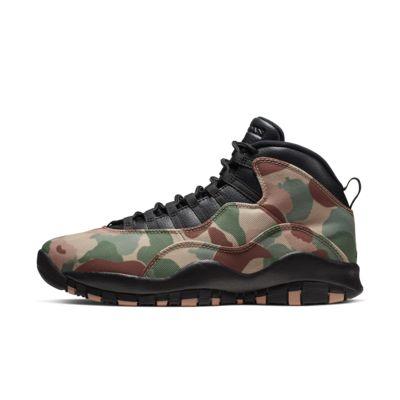 รองเท้าผู้ชาย Air Jordan 10 Retro