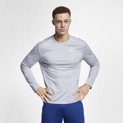 Pánský běžecký top Nike Dri-FIT Miler s dlouhým rukávem
