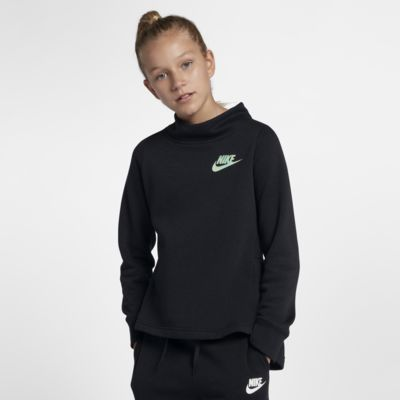 Nike Sportswear Big Kids' (Girls') Fleece Crew