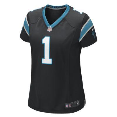 NFL Carolina Panthers (Cam Newton) Women's Game Football Jersey