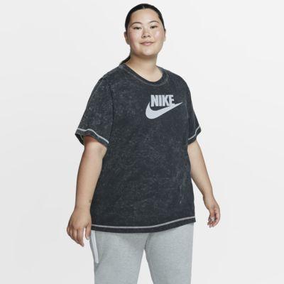 Женская футболка с коротким рукавом Nike Sportswear (большие размеры)