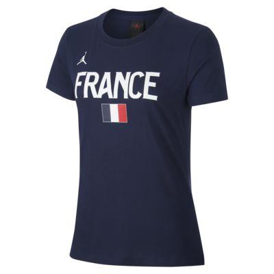 Dámské basketbalové tričko France Jordan Dri-FIT