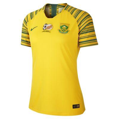 Camiseta de fútbol para mujer South Africa 2019 Home