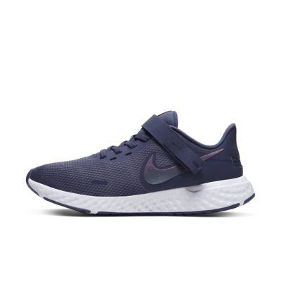 Купить Женские беговые кроссовки Nike Revolution 5 FlyEase, Sanded Purple/Amethyst Tint/Белый/Темно-серый, 23775879, 12719374
