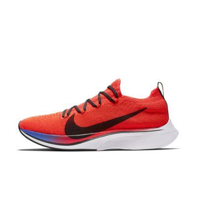 Купить Беговые кроссовки Nike VaporFly 4% Flyknit, Яркий темно-красный/Сапфир/Белый/Черный, 22825079, 12542649