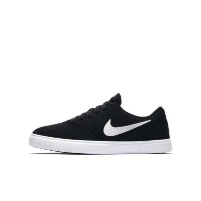 Skateboardová bota Nike SB Check Canvas pro větší děti
