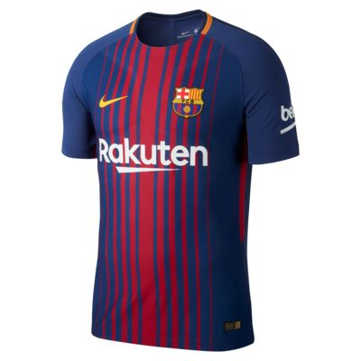 49fbc237d38d Shoptagr | 2017/18 Fc Barcelona Vapor Match Home Men's Football ...