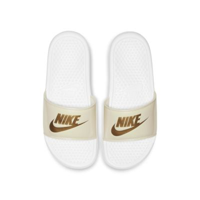 Chancla para mujer Nike Benassi JDI Floral Metallic