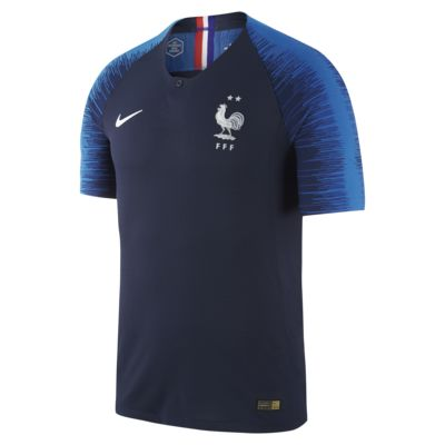 Maillot de football 2018 FFF Vapor Match Home pour Homme