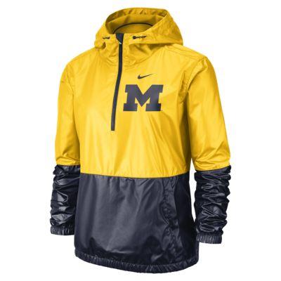 Nike College Anorak (Michigan) Women's Jacket