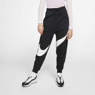 Nike Sportswear Swoosh Fleecebroek voor dames