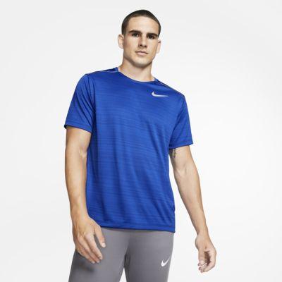 Nike Dri-FIT Miler Hardlooptop met korte mouwen voor heren