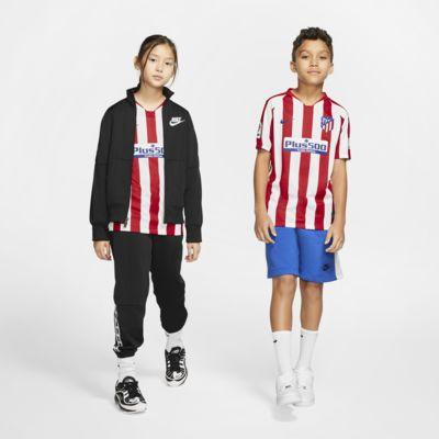 Atlético de Madrid 2019/20 Stadium Home Fußballtrikot für ältere Kinder